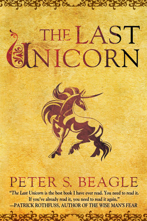 Cover of The Last Unicorn by Peter S. Beagle.