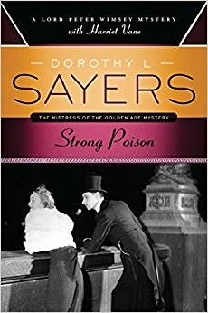 Cover of Strong Poison by Dorothy L. Sayers. Cover by Robin Bildardello.