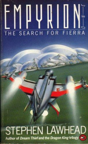Cover of The Search for Fierra by Stephen Lawhead. Art by Richard Chetland.