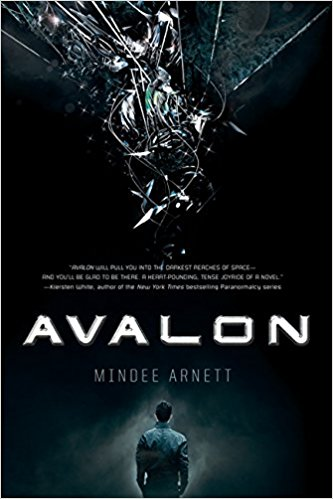 Cover of Avalon by Mindee Arnett. Art by Josh Dutra.