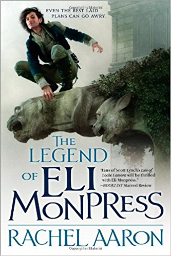 Cover of The Legend of Eli Monpress by Rachel Aaron. Art by Sam Weber.