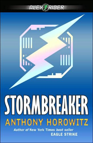 Cover of Stormbreaker by Anthony Horowitz.